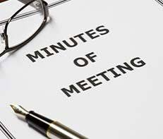 Meeting Minutes Post